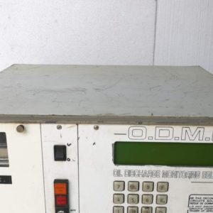Oil Discharge Monitoring Equipment (ODME)